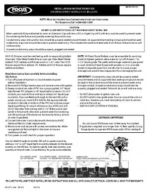 120-277v Install DB-HID
