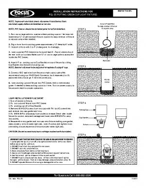12v Install PGL-05