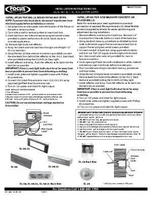12v Install SL-04 -24