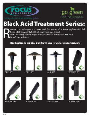 Black Acid Treatment