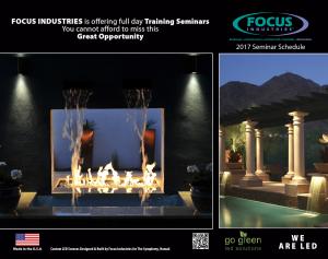 Focus Seminar Brochure 2017