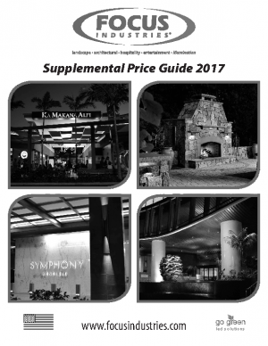 2017 Supplemental List Price Guide
