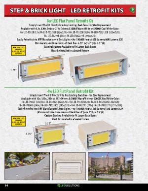 Surface Step LED Retrofit Kits
