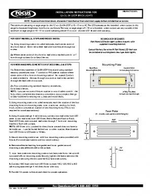 12v Install SL-04-LEDP