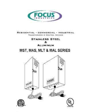 MST & MLT Install Transformers