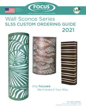 SL55 Wall Sconce Ordering Guide