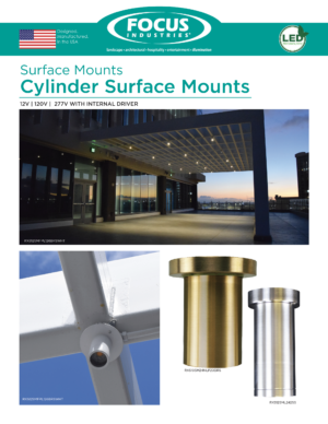 RXS Cylinder Surface Mounts