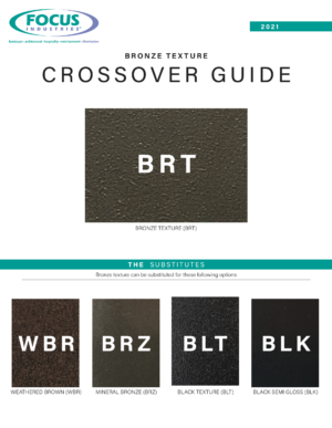 Bronze Texture Cross Over Options