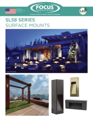 SL58 Surface Mounts Brochure